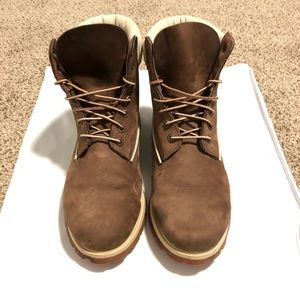 Timberland PREMIUM Brown All Purpose Boots Size 12
